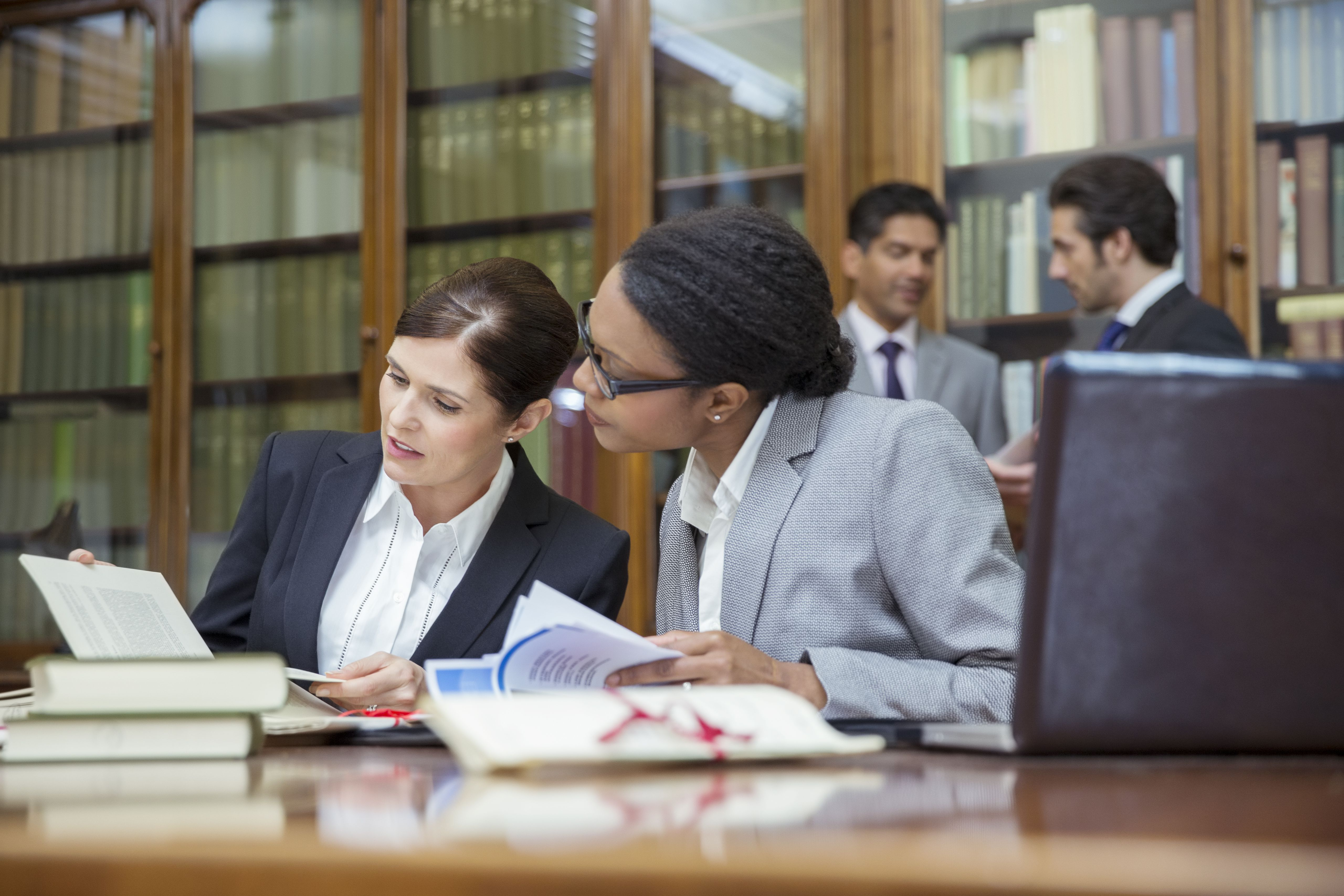 Attorneys in law library