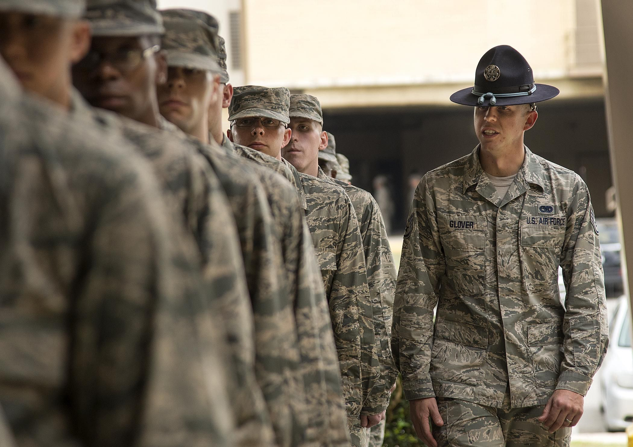 Physical Fitness Standards for Air Force Basic Training
