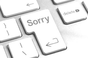 Sorry on computer keyboard