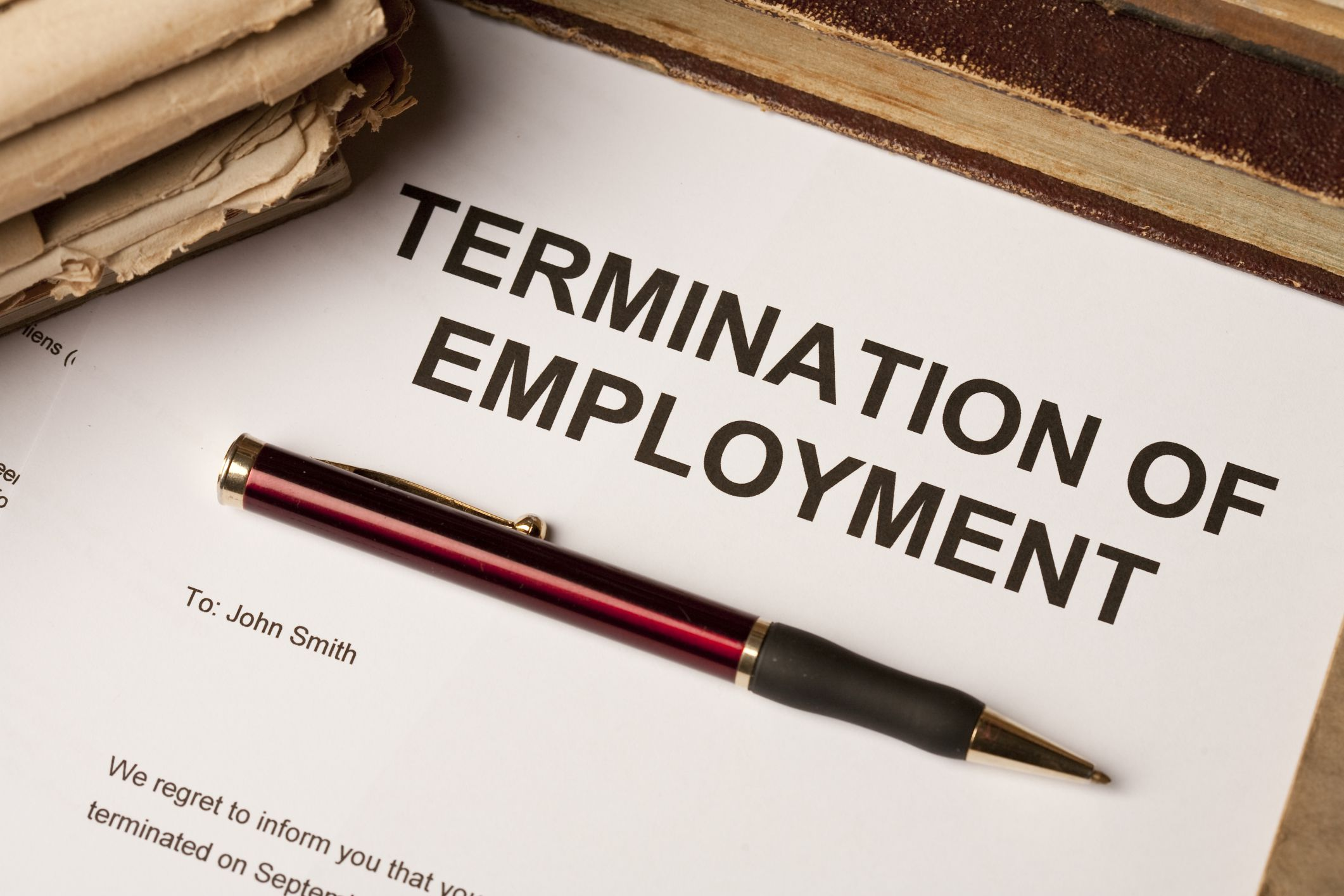 does an employer have to provide notice of termination