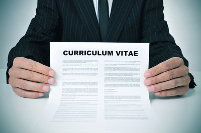 How to write a curriculum vitae cv for a job customize your curriculum vitae cv with this template altavistaventures Images