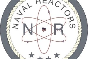 The logo of Naval Reactors,