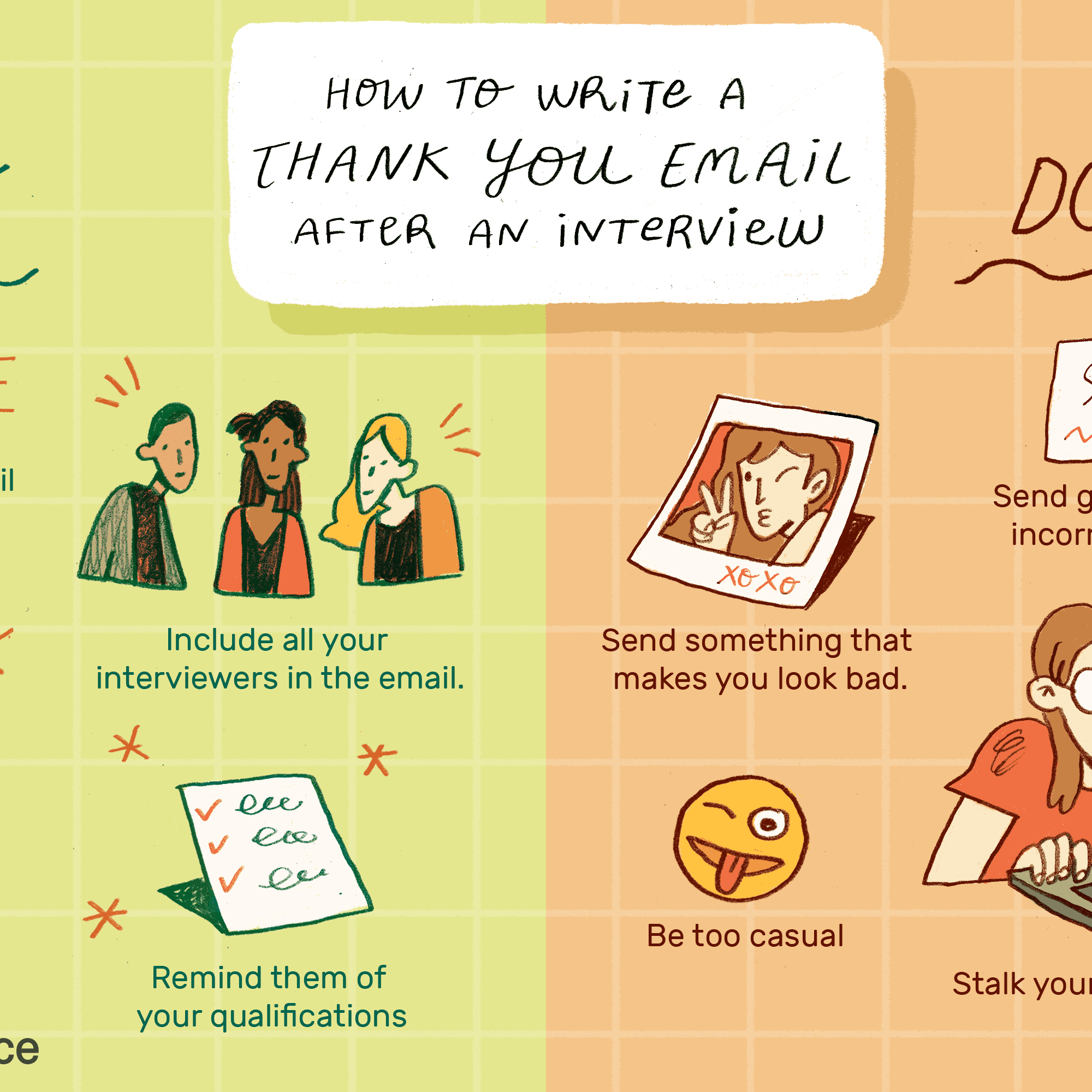 Thank You Email After Interview - Examples, Do's and Dont's
