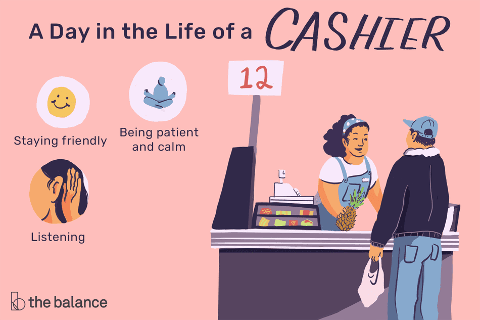 a day in the life of a cashier