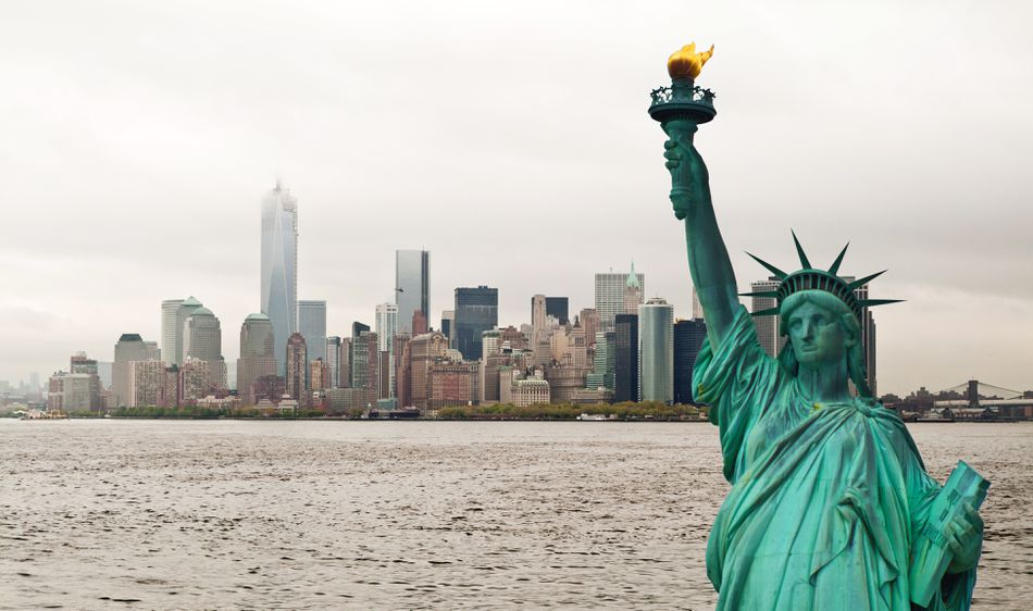 U.S. Immigration Landmark, The Statue of Liberty