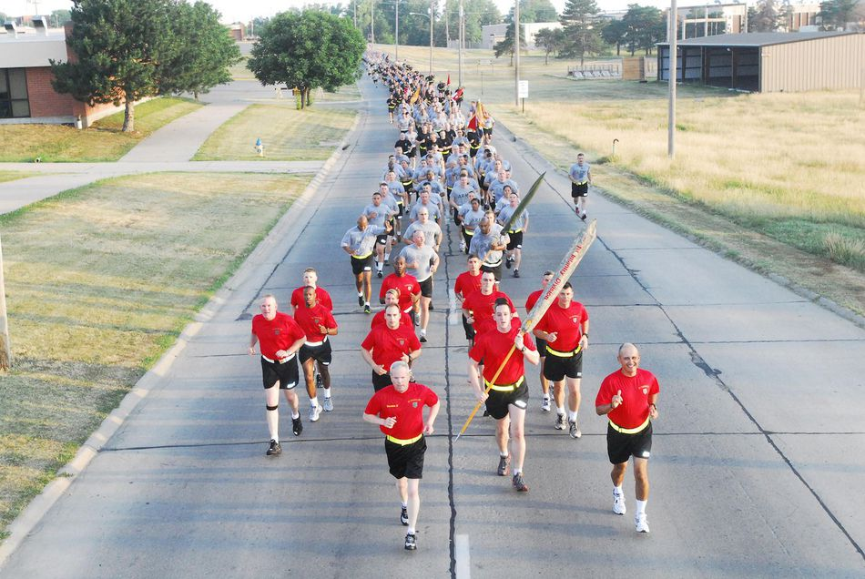 Victory Run at Fort Riley