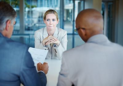 Try not to ask certain questions during a job interview