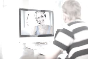Online teaching via teleconference
