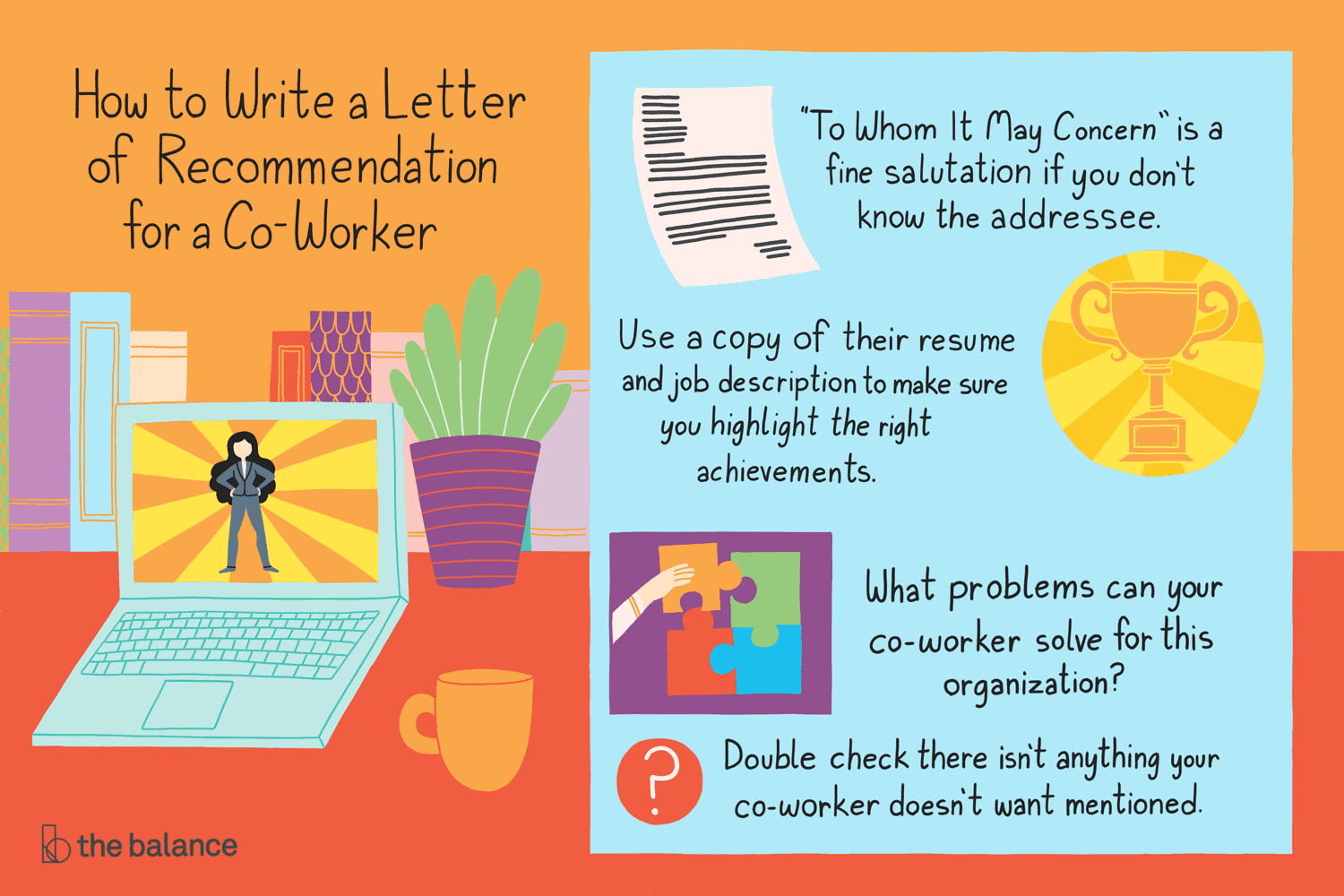 How to Write a Letter of Recommendation for a Co-Worker