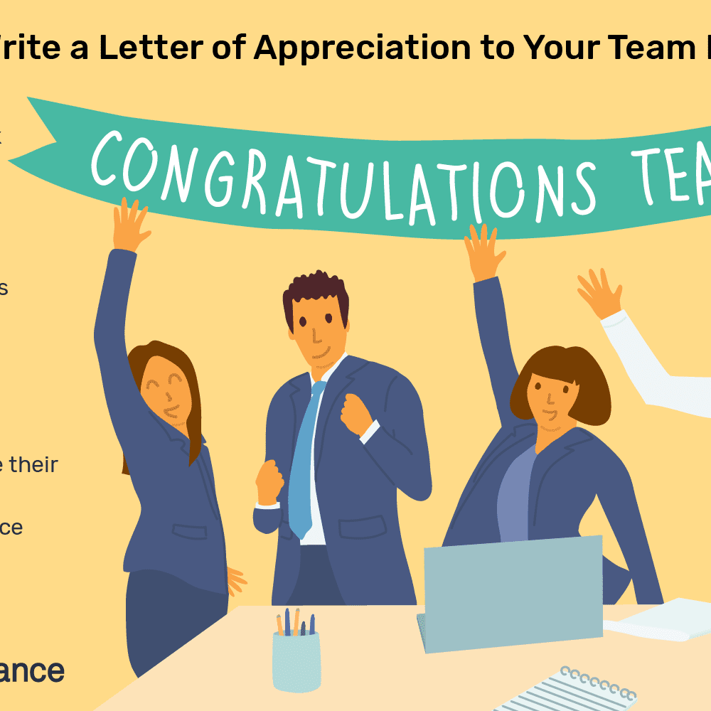 Thank You Letter To Team Members from www.thebalancecareers.com