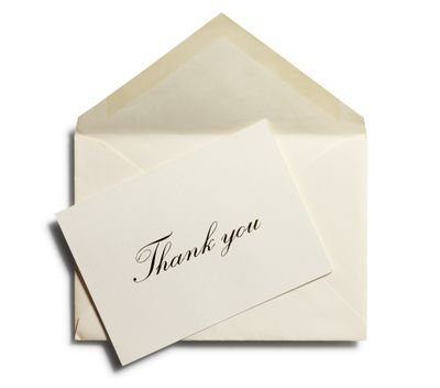 Job Search Thank You Card Samples