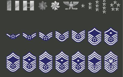 Timeline Of Air Force Enlisted Rank Insignia