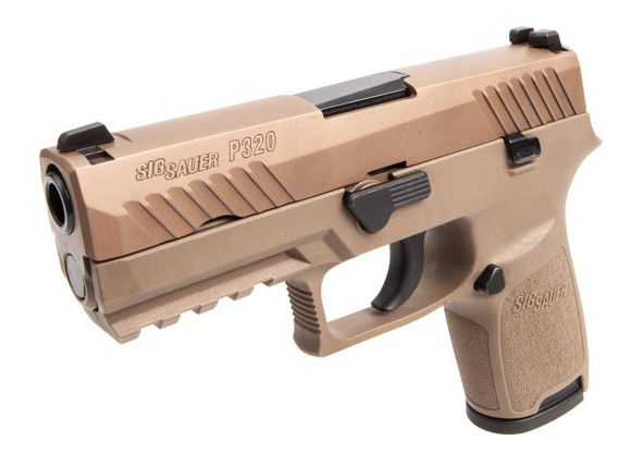 The Beretta M9 Pistol Is Replaced By Sig Sauer P320