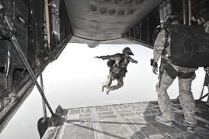 July 30, 2012 - A U.S. Air Force pararescueman