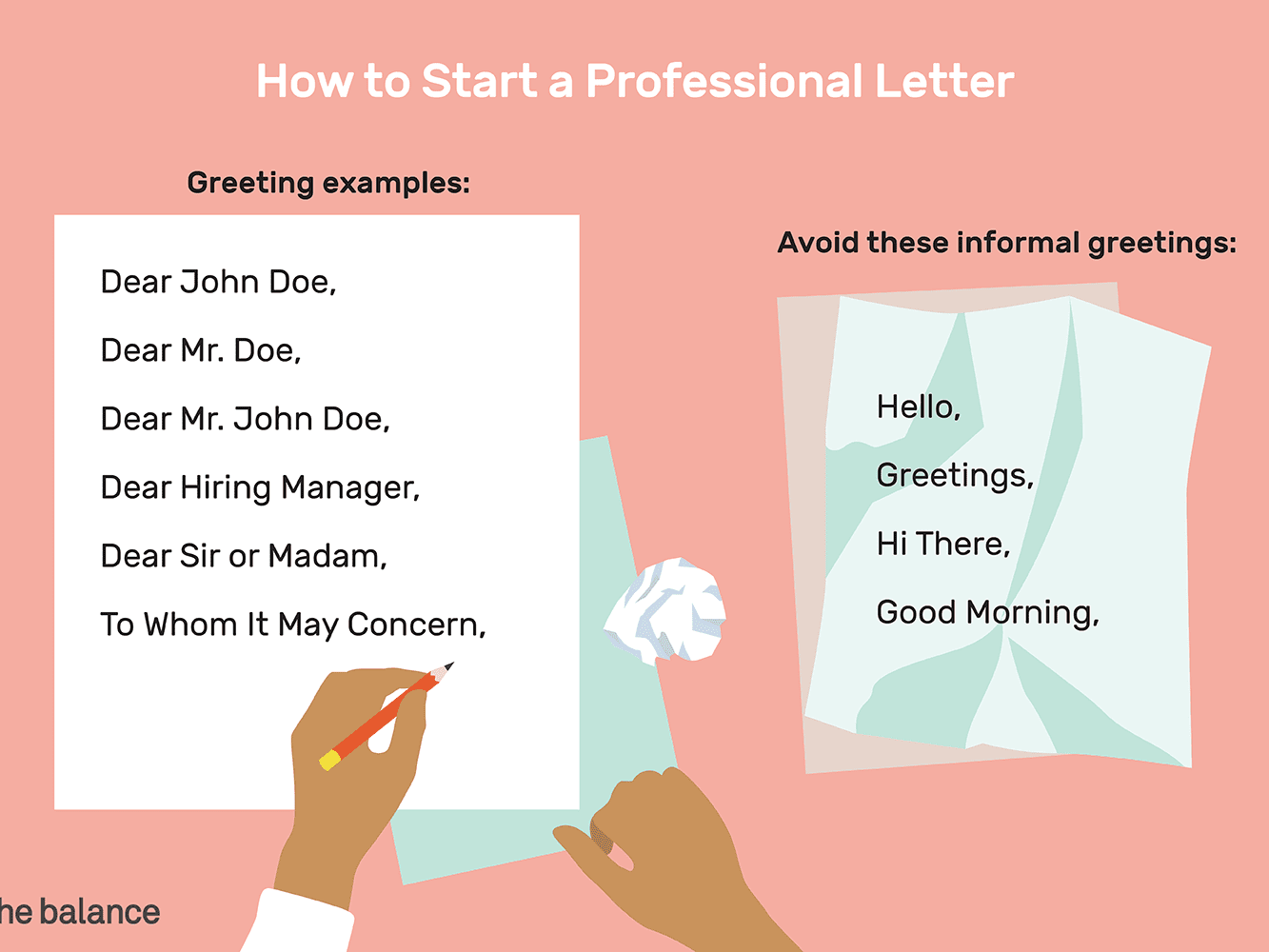 How to Start a Letter With Professional Greeting Examples