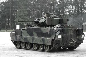 M2 Bradley Armored Vehicle