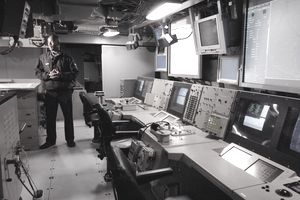 Inside the USS San Antonio