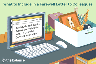 Farewell Letter Samples and Writing Tips