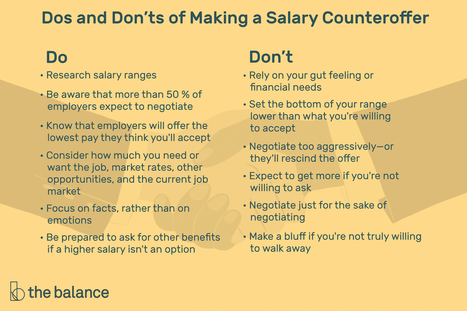 how to negotiate a salary counter offer for a job
