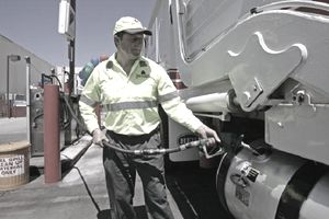 Bob Besso, recycling program manager of NORCAL Waste Systems