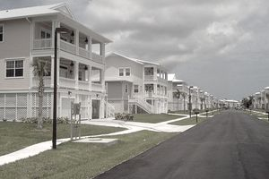 New housing family housing at Naval Air Station Key West