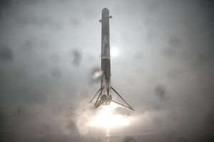 Rocket takes off from Vandenberg AFB