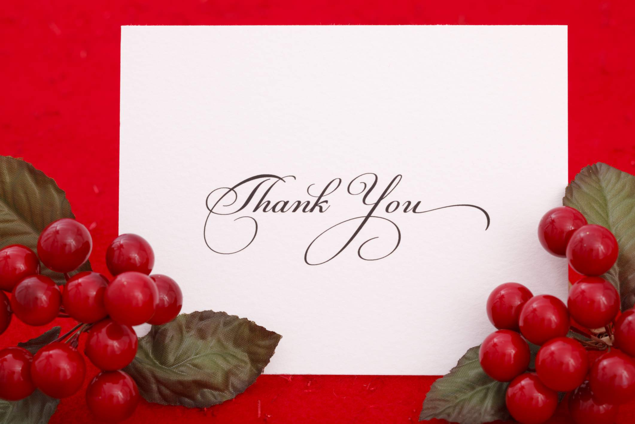 Holiday Thank You Letter from www.thebalancecareers.com