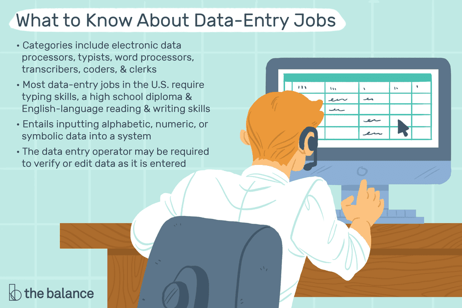 Looking for a Data Entry Job: What You Need to Know