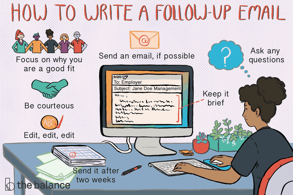 How to send a follow-up email