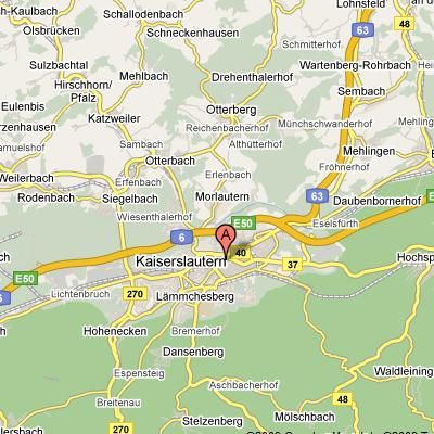 Installation Overview Us Army Garrison Kaiserslautern - Map-of-us-army-bases-in-germany