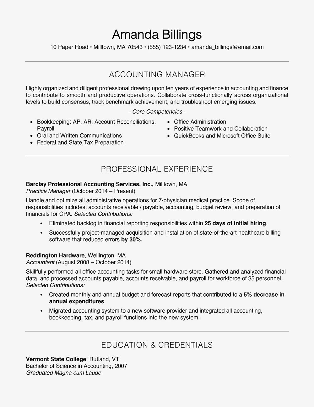 100 free professional resume examples and writing tips - How To Build A Professional Resume