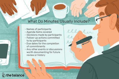 Learn About Meeting Minutes and Why They're Important