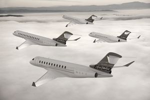 Bombardier's Global family now includes the ultra long-range 5000, XRS, 7000 and 8000.