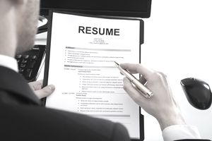Resume with Bullet Points