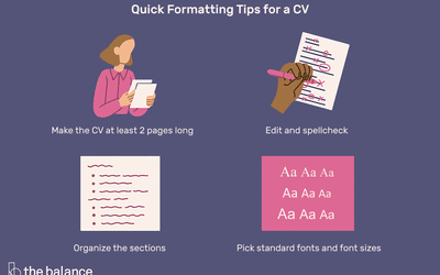 Academic Curriculum Vitae (CV) Example and Writing Tips