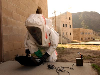 U.S. Marines Prepare for Nuclear, Biological, and Chemical Attack