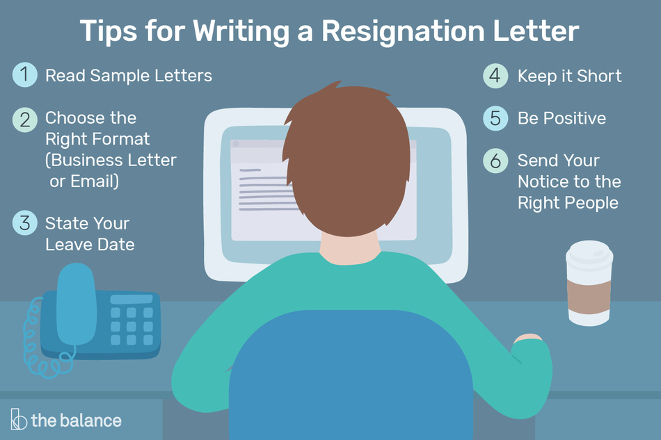 Tips for writing a resignation letter