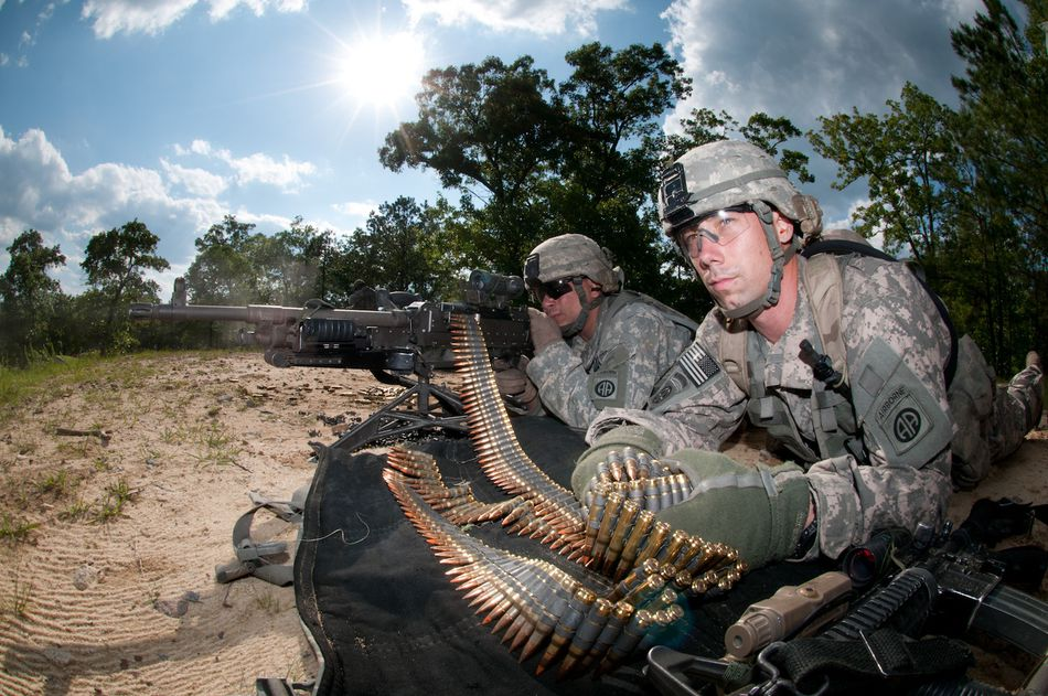 Airborne platoons train for Global Response Force
