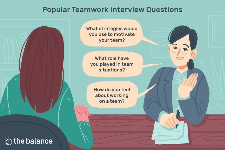 Image shows two women engaged in an interview. Title reads: