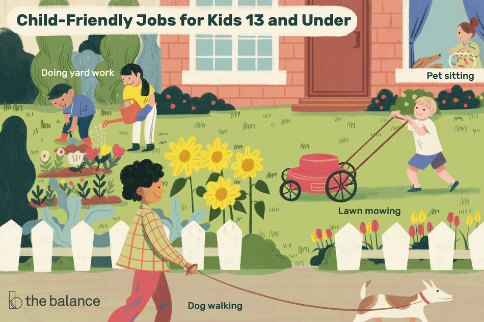 Best Jobs for Kids Under 13