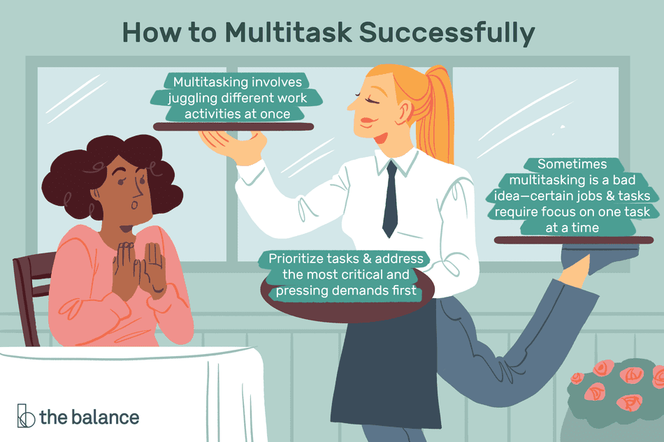 important multitasking skills employers value