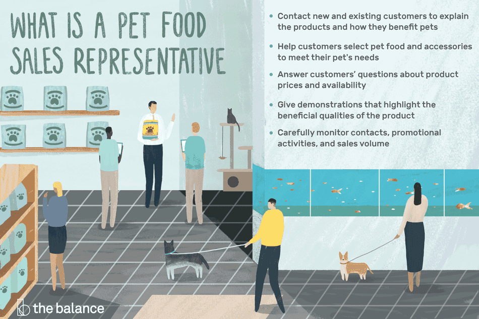 What Does a Pet Food Sales Representative Do?