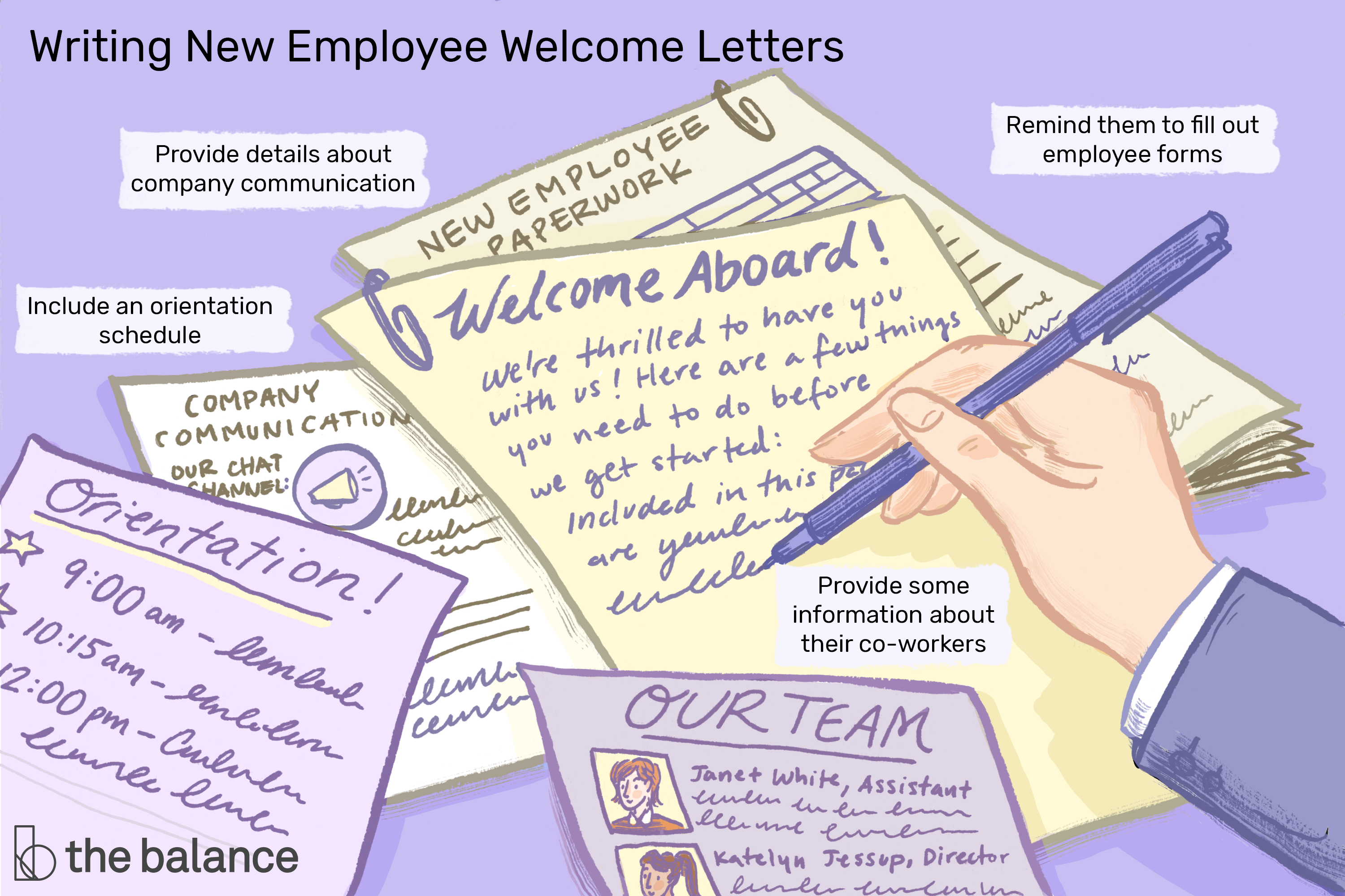 Two Sample Welcome Letters For New Employees