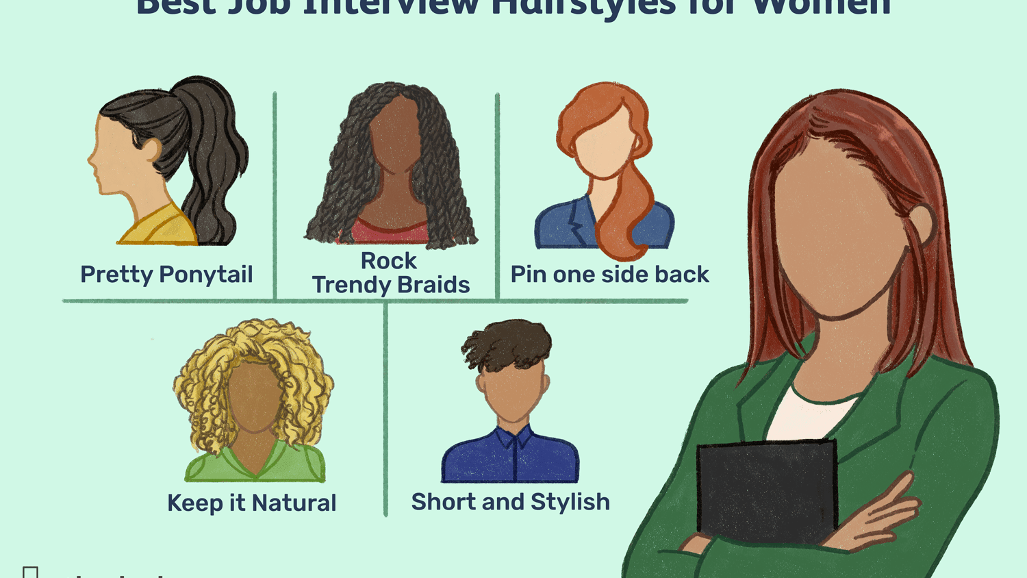 Best Job Interview Hairstyles For Women