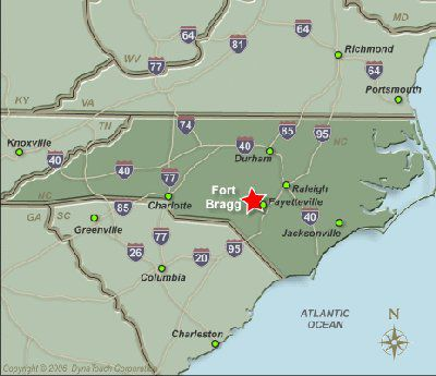 Installation Overview for Fort Bragg North Carolina