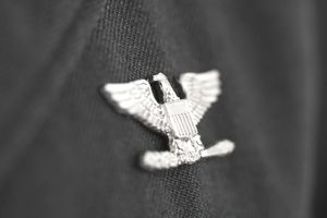 Colonel insignia, eagle military pin