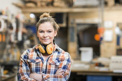 woman in non-traditional career