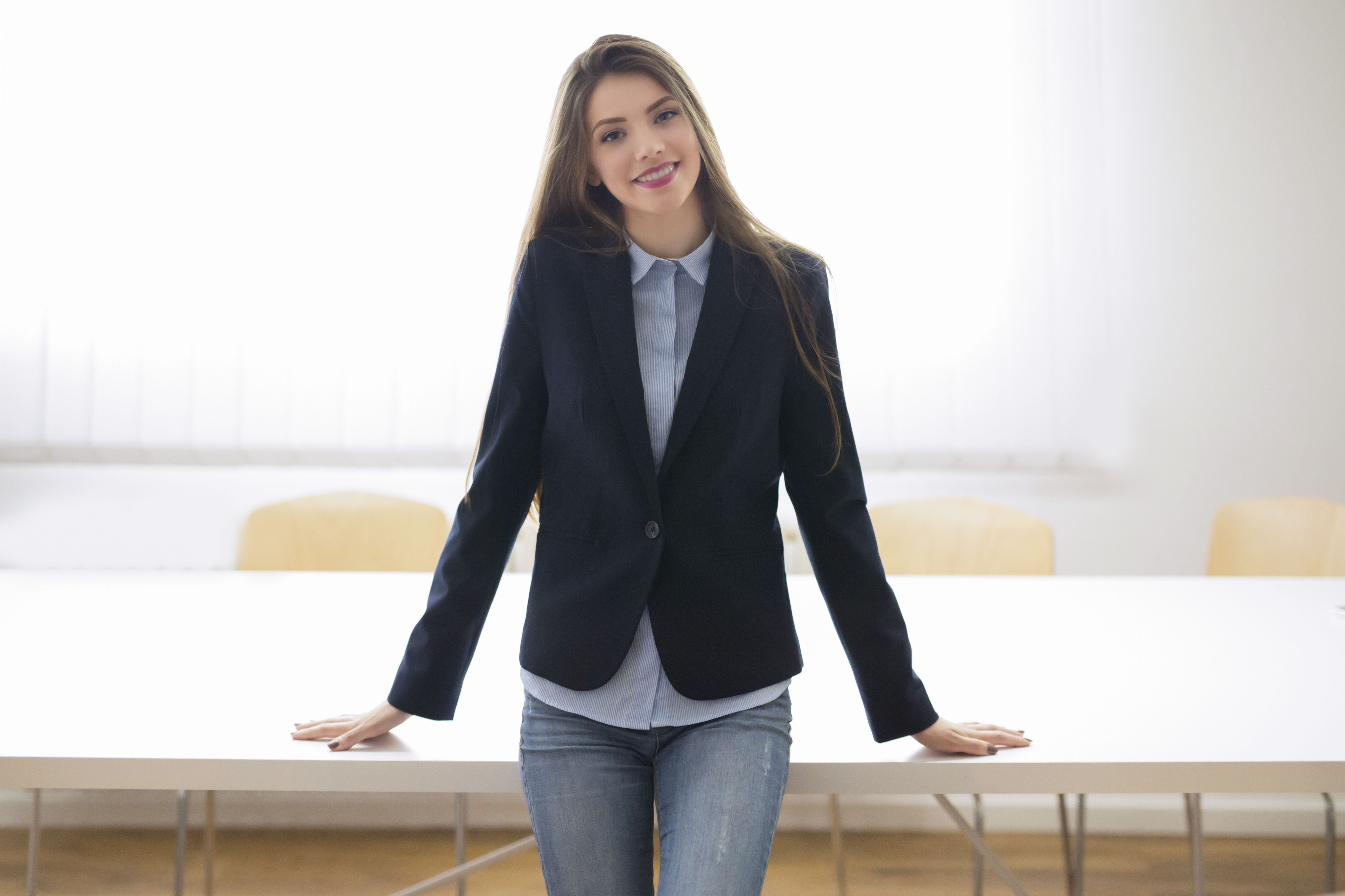 smart casual dress code to a job interview