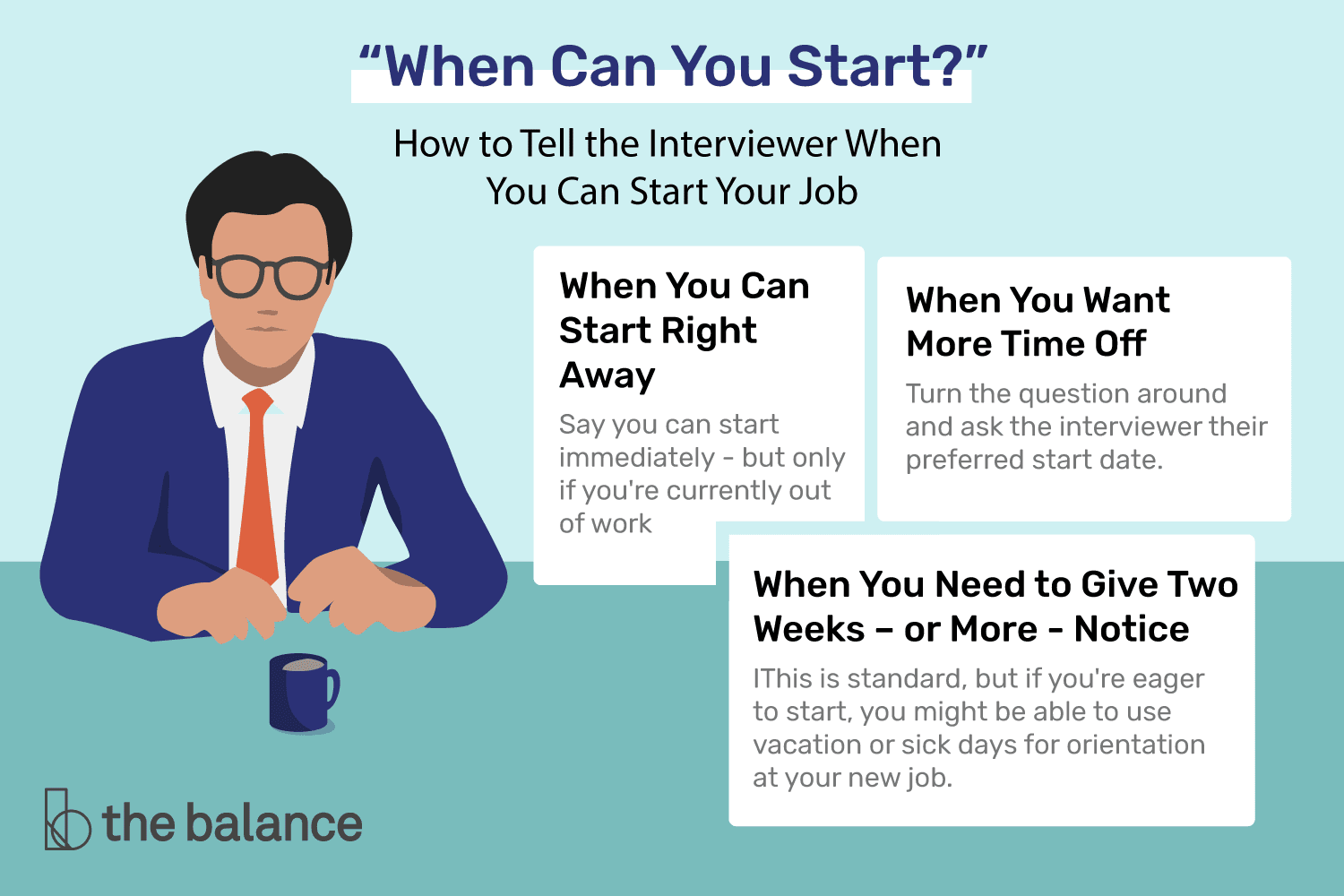 Interview Questions About When You Can Start Work