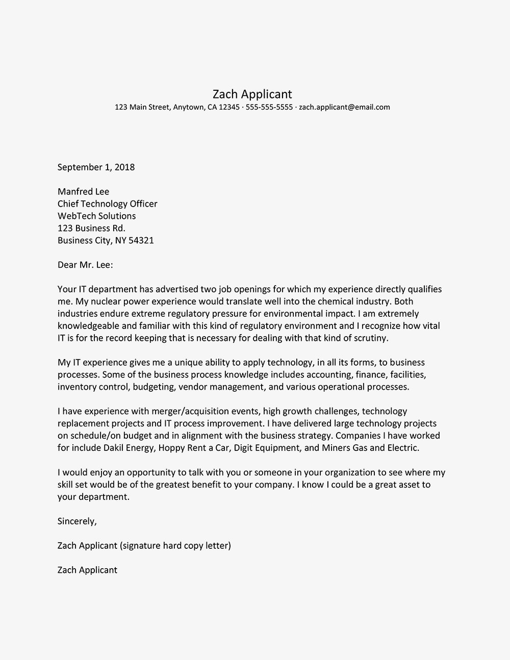 how to write a generic cover letter for multiple jobs   Nadi.palmex.co
